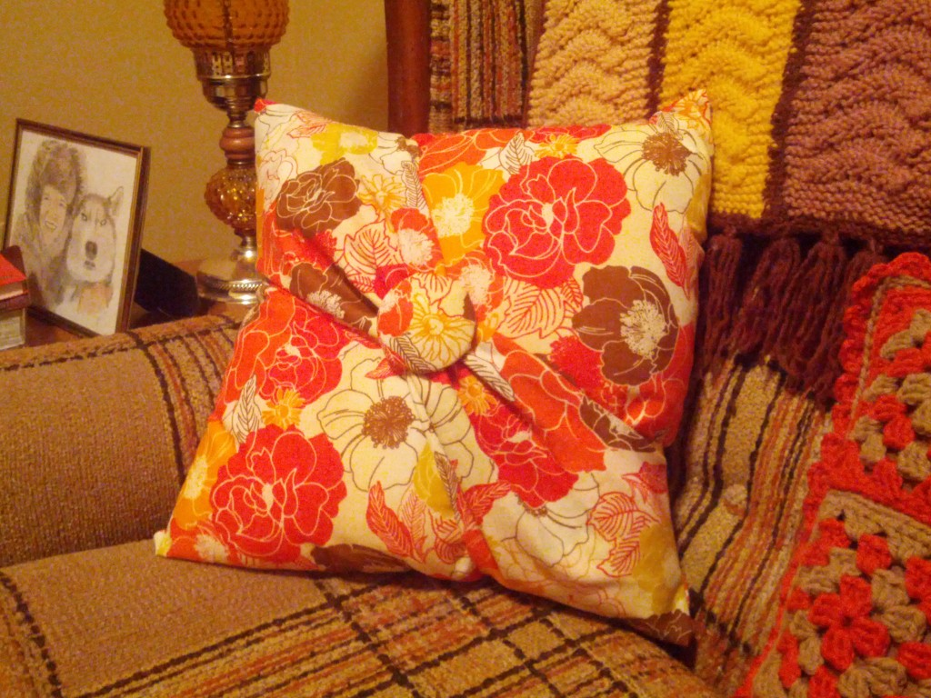 Pillow Number one for my love seat. Personal Design.